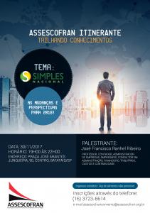 Assescofran Itinerante - Trilhando Conhecimentos em BATATAIS/SP @ ACE - Associação Comercial e Empresarial de Batatais