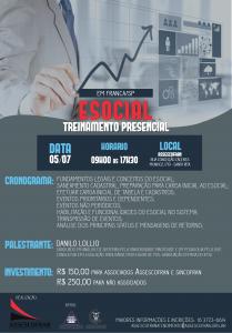 Curso E-Social com Danilo Lollio @ Assescofran